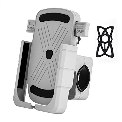 BANGNA Aluminum Bicycle Phone Holder Adjustable GPS Bike Handlebar Rear Mirror Stand