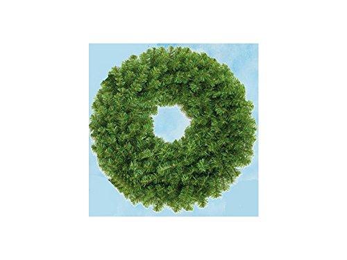 Decorazione Natale Corona Ghirlanda Aghifoglie Diam 30cm 60 Rami 008318