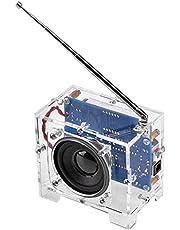 Mungowu DIYラジオキットラジオ制作キット、電子デジタルディスプレイ放送キット、部品Fmデジタルラジオ
