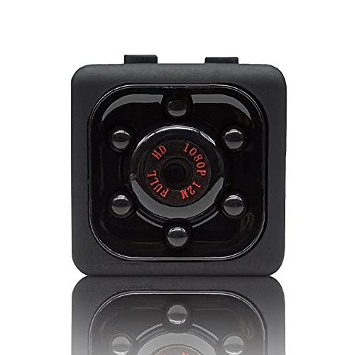 Minicámara espía con detector de movimiento y memoria, cámara espía oculta, cámara de vigilancia para interiores, micro cámara espía camuflada