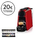 Nespresso De'Longhi Essenza Mini EN85.R - Cafetera monodosis de cápsulas Nespresso,...