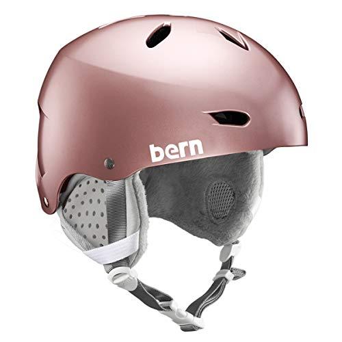 Bern Damen Brighton Helm, Satin Rose Gold, S