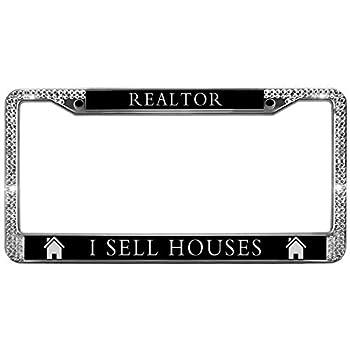 realtor license plate frame