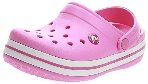 Crocs Crocband Clog Kids, Zuecos Unisex niños, Rosa (Party Pink), 22/23 EU