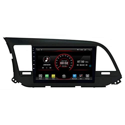 Android 10 GPS para automóvil Unidad principal estéreo Navi Radio Multimedia WiFi para Hyundai Avante Elantra 6 Generation 2016 2017 2018 Soporte Control del volante incorporado CarPlay con cable