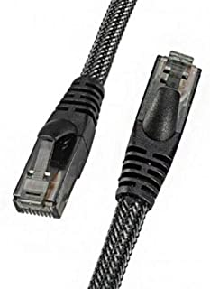 RC-039W - High Speed Network Cable - 1 Meter - Black