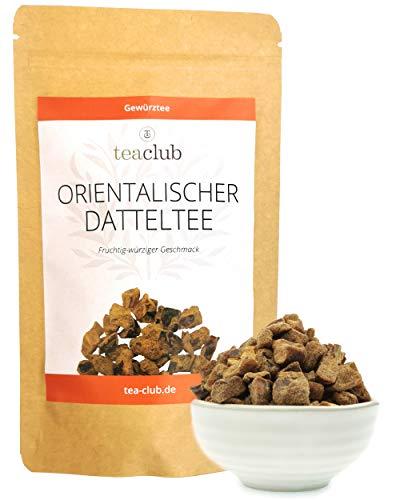 Orientalischer Datteltee 100g, Chai Tee Lose echte Datteln ohne Aromastoffe, Chai-Latte Gewürze Früchtetee TeaClub