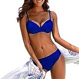Darringls Costume da Bagno Donna, Bikini a Triangolo Costumi Interi Donna Costumi Donna Mare Due Pezzi Taglie Forti Trikini Push Up Estate 2019 Costume da Bagno per Bikini