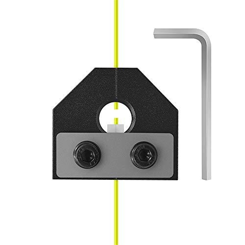 Piezas de La Impresora 3D Conector del Soldador de Filamento, Accesorios de La Impresora 3D Consumibles Conectores Con Llave PLA Varios Consumibles 1.75Mm PLA Sensor de Filamento ABS (Black)