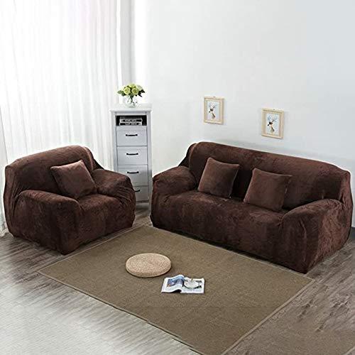 Fundas de sofá de esquina de color sólido para sala de estar elástico spandex fundas de sofá funda elástica toalla en forma de L