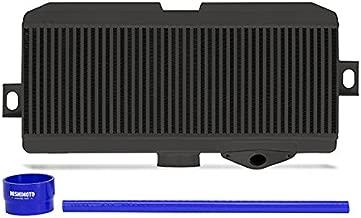 Mishimoto MMTMIC-STI-08BKBL Subaru WRX STI Performance Top-Mount Intercooler Kit Black Cooler Blue Hoses, 2008-2014