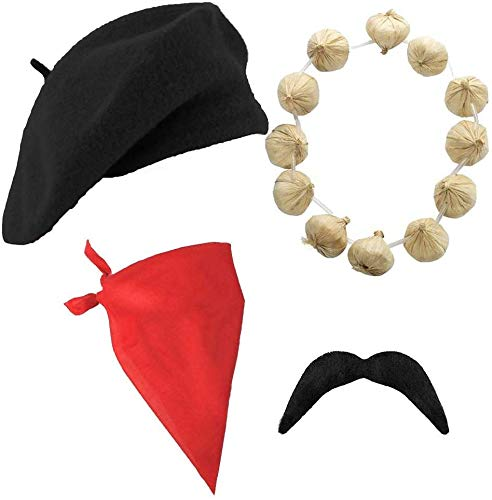 FRENCH SET AND KIT BLACK BERET R...