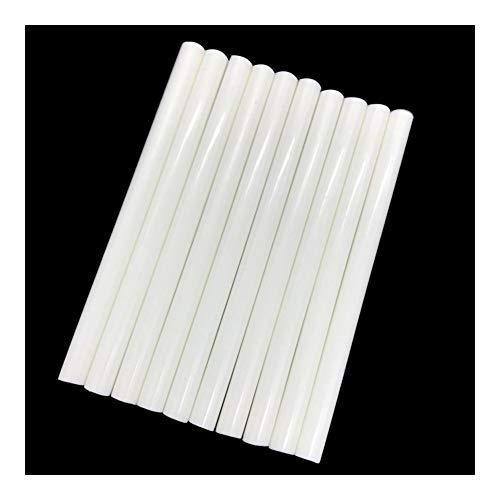 NO LOGO EG-RERONGJIAO, 10 barras de pegamento de color blanco de 7...