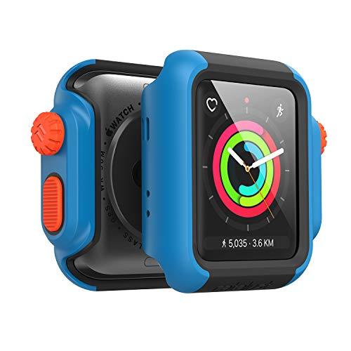 Catalyst Apple Watch 42 mm Cover Serie 3 e Serie 2 - Custodia Antiurto Grado Militare Protezione Apple Watch Series 2 Series 3 [Robusta Custodia Antiurto per iWatch] - Blueridge/Tramonto