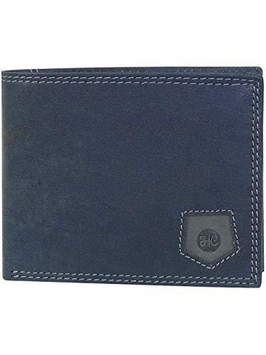 HC Herren Geldbörse quer mit RFID Schutz, Farben:Marine