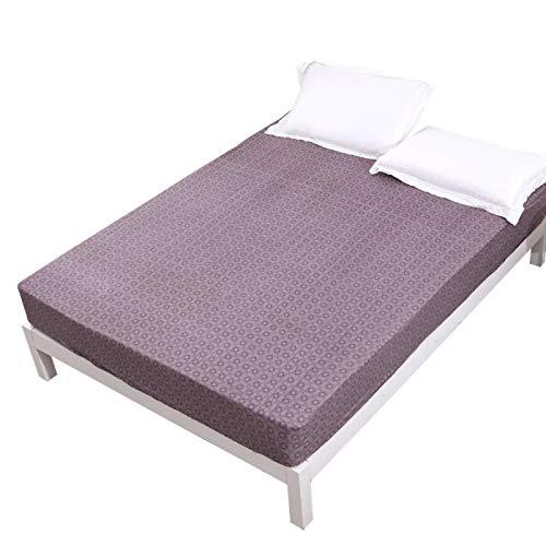 Haya - Sábana bajera ajustable para colchón (91 x 190 + 30 cm)