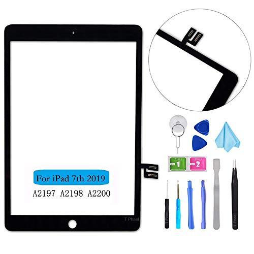 T Phael Black Touch Screen Digitizer Repair Kit for iPad 10.2