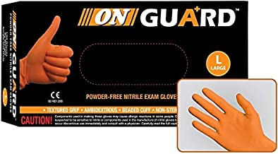 10 Mils Thick Extended 12 Cuff 500, Small Crowbar High Risk Heavy Duty Nitrile Exam Gloves