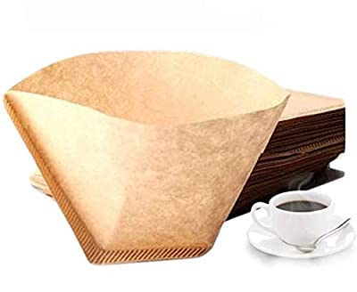 Size 2 Coffee Filter Paper Unbleached Coffee Papers Perfect for Coffee Machines Coffee Grinder Filters Paper- Pack of 200