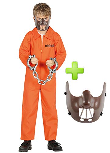 Disfraz de Psicopata Canibal infantil