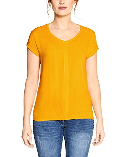 Cecil Damen 314729 Indra T-Shirt, Mango Yellow, Medium
