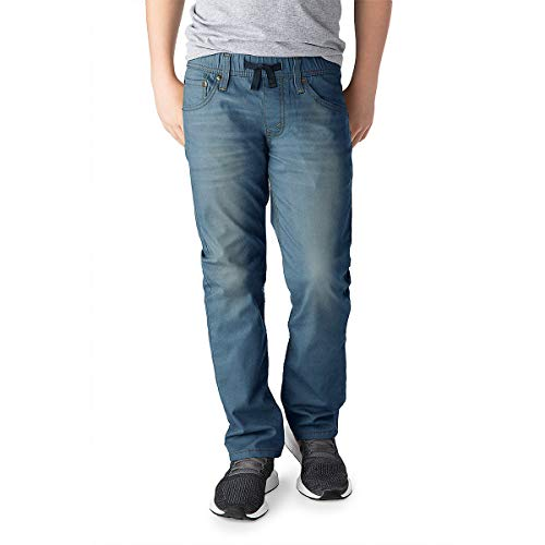 Signature by Levi Strauss & Co. Gold Label Boys Pull On Jeans, Gulf, 12