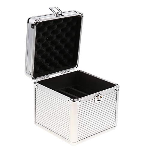 prasku Caja de Transporte de Almacenamiento Protectora de Aluminio para Disco Duro de Disco Duro de 6 Bahías 4x3.5 2x2.5