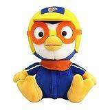 YMJ 30Cm Pororo Cute Little Penguin Plush Toys Pororo Doll with Glasses Plush Stuffed Animals Stuffed Toys for Children Kids Gift