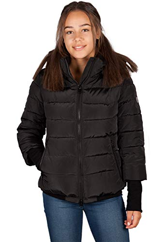 Grimada Q136 dames winterjas SNOWIMAGE zwart (lengte 63 cm)