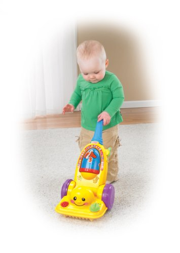 Fisher Price - Laugh & Learn Learning Vacuum Cleaner