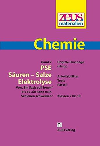 z.e.u.s. - Materialien Chemie / PSE - Säuren - Salze - Elektrolyse: Von