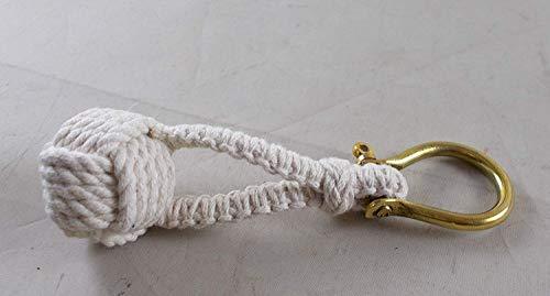 1 X Nautical Monkey Fist Knot Key Chain