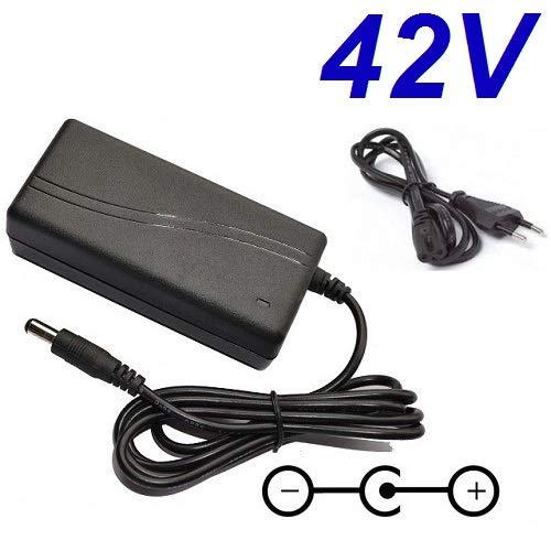 CARGADOR ESP ® Ladegerät Aktuelle 42V kompatibel mit ersatz für Segway Elektro-Einrad Electric Scooter RS9 Model 9 Ersetzt Netzadapter Netzteil Replacement