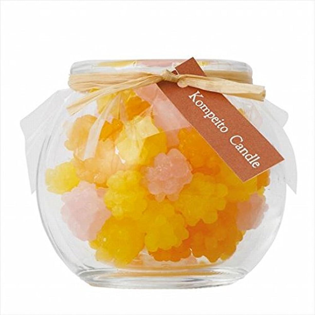 情報保存する肥満スイーツキャンドル( sweets candle ) こんぺいとう 「 イエロー 」