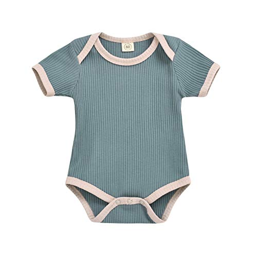 Shiningbaby Newborn Baby Boy Girl Romper Toddler Little Kid Jumpsuit Short Sleeve Summer Clothes