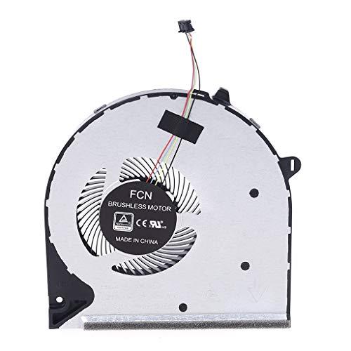 EWAT Ventilador de refrigeración de CPU, radiador para 15-DU 15S-DU 15-DU0002TX 15-DU1004TX 15-DU1005TX TPN-C139 ordenador portátil