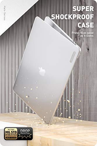 i-Blason Case für MacBook Pro 16 Zoll Hülle Slim Schutzhülle Bumper Hardcase Stoßfest Cover Tasche mit Touch Bar und Touch ID für MacBook Pro 16 Inch 2019 Ausgabe (Transparent)