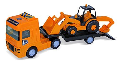 AVC - Maxi Trailer Con Plataforma Y Tractor
