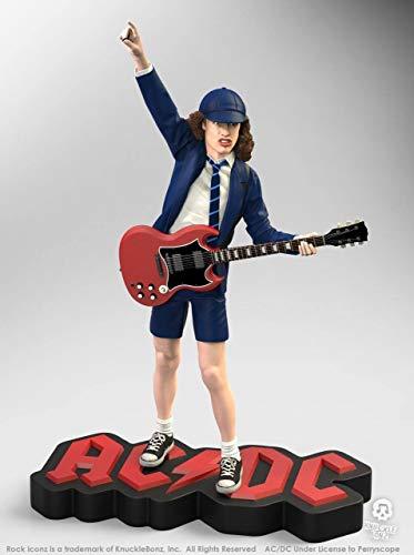 Estatua Angus Young II de 21 cm. AC/DC. Rock Iconz. Edición limitada. Knucklebonz