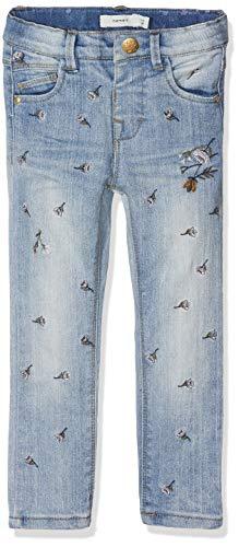 NAME IT Baby-Mädchen NMFPOLLY DNMBAGUNA 1083 Pant Jeans, Blau (Light Blue Denim Light Blue Denim), 98