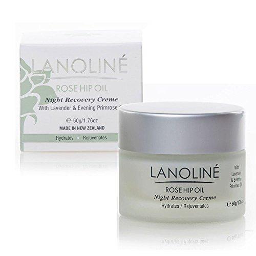 Lanoline Rose Night Recovery Creme 1.76 Fl Oz by Lanoline