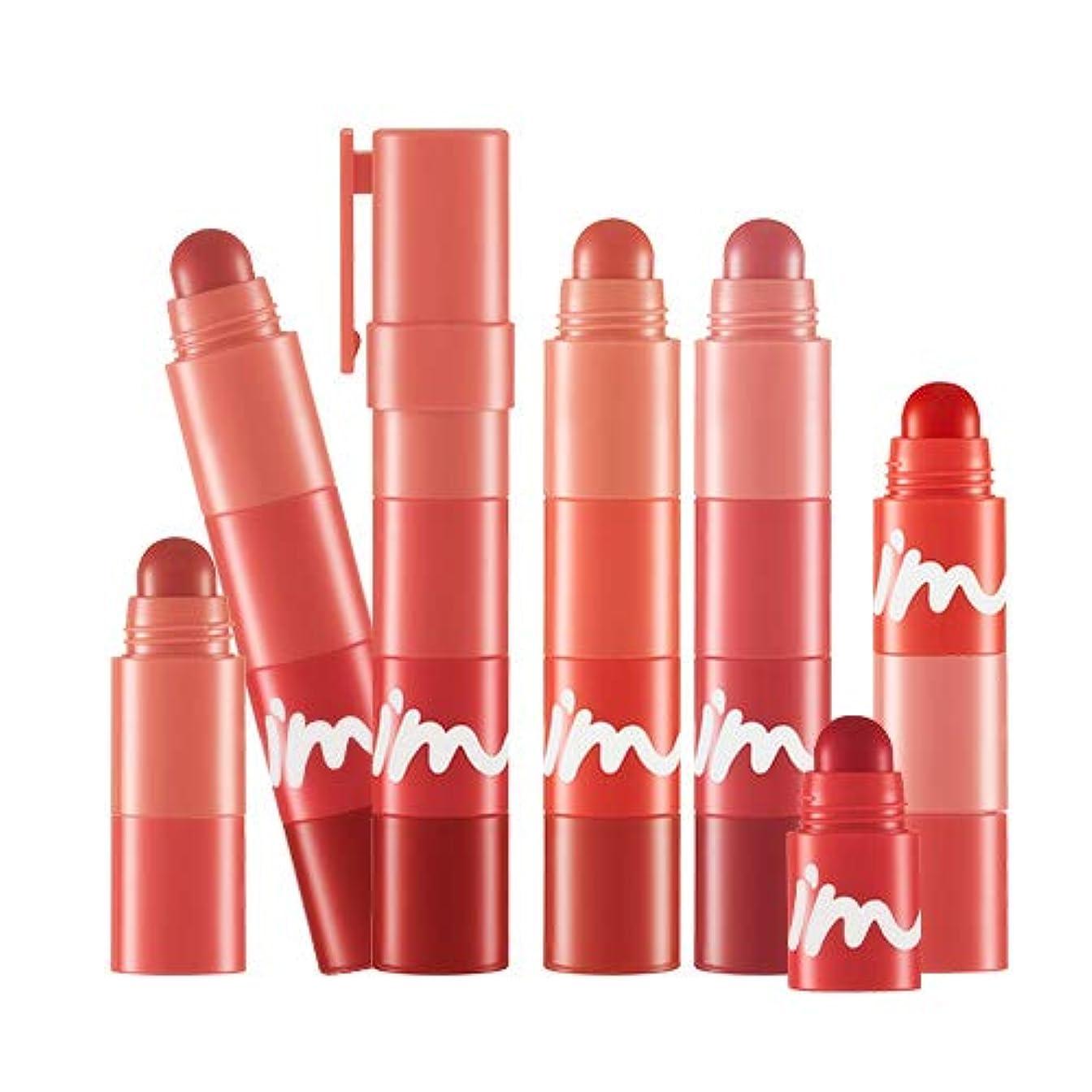平らなお酒配るI'M MEME マルチリップクリヨン - マット MULTI LIP CRAYON MATTE - MATTE (#001 Red On My Lips) [並行輸入品]
