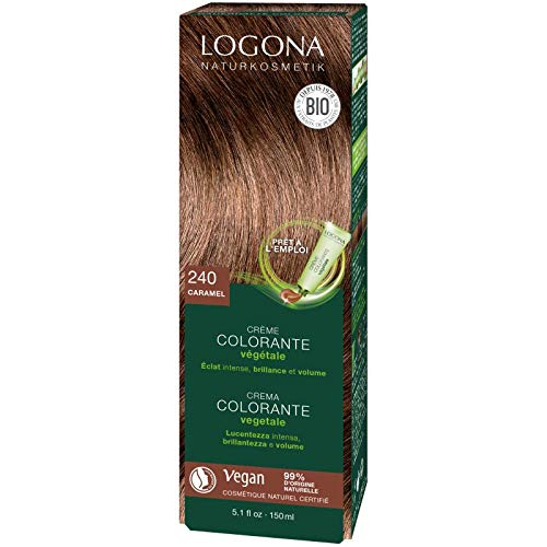 Logona - Crème colorante végétale Caramel