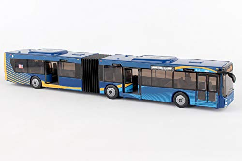 "Daron MTA New York City Bus 16"" Articulated Bus RT8571 Toy, Brown"