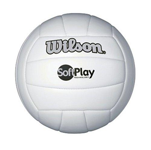 WILSON Soft Play Outdoor Volleyball, weiß