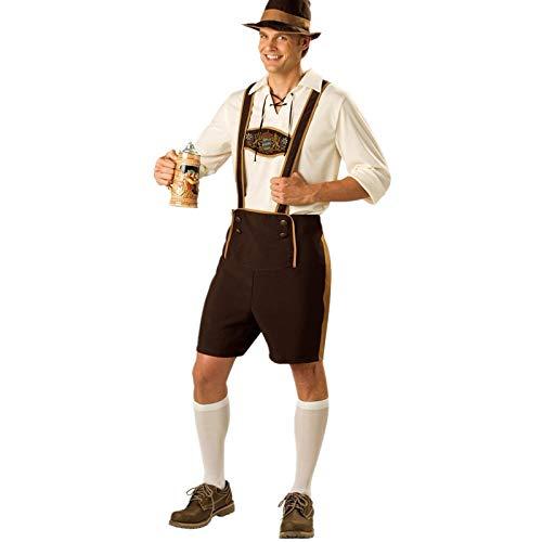 gousheng Halloween Code-Basierte Uniformen Beer Festival Cosplay Verkleiden Sich Kleidung Bar Restaurant Arbeitskleidung Party Dekoration L