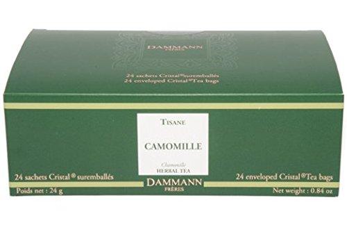 DAMMANN FRERES - CAMOMILE (Camomilla) - 24 bolsas Cristal®.