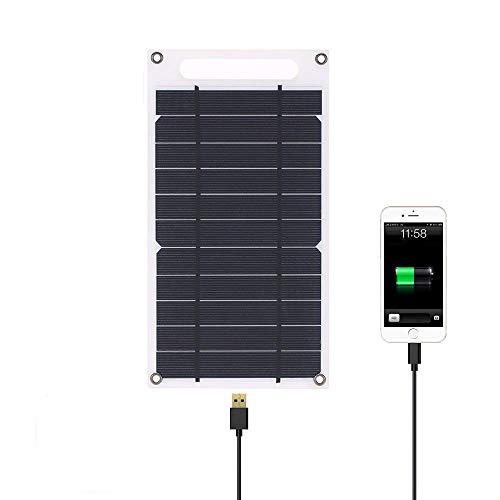 lixada 7,8W Solar Ladegerät, tragbares Solar Panel Ladegerät, Smart Handys und andere USB-Geräte für Handy Outdoor Camping Klettern Wandern