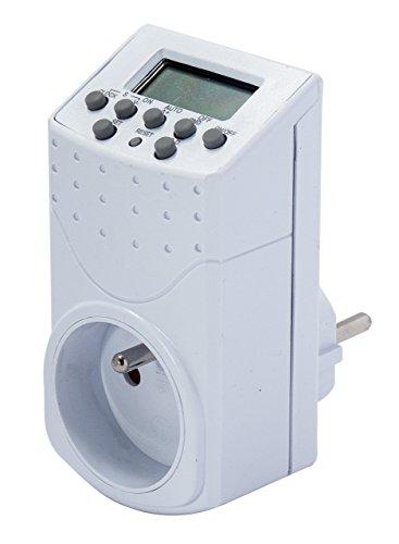 Chacon 54021 Programmateur digital, Blanc