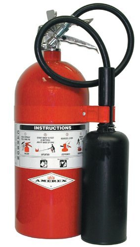 Amerex 330, 10lb Carbon Dioxide Class B C Fire Extinguisher Florida